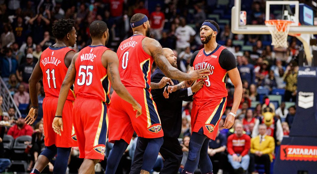Pelicans' Anthony Davis racks up 32 points vs. Chicago Bulls