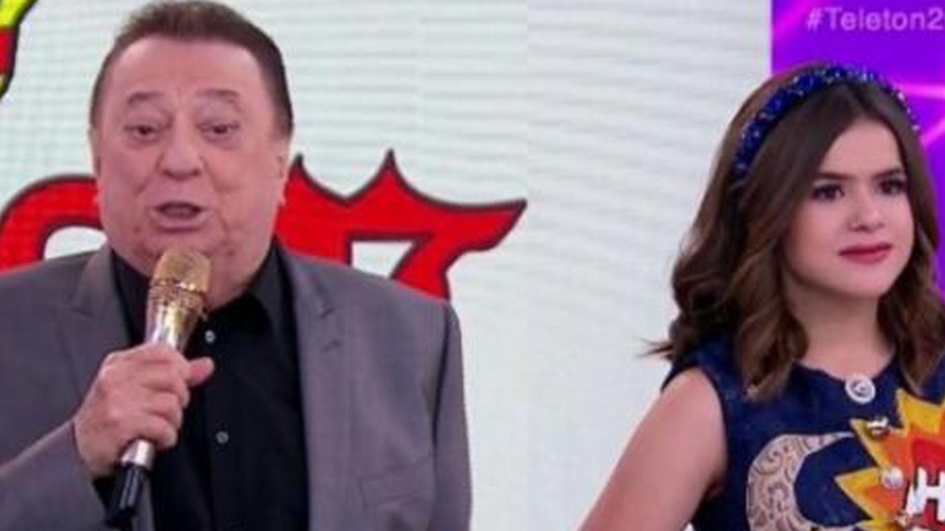 Raul Gil exalta Jair Bolsonaro no Teleton e leva cortada de Maisa