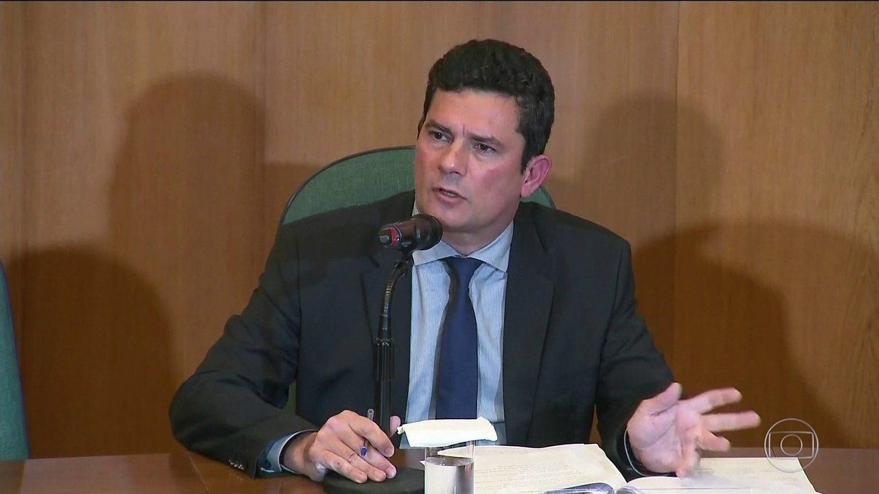 Sergio Moro revela estar recebendo ameaças após aceitar o cargo de Ministro
