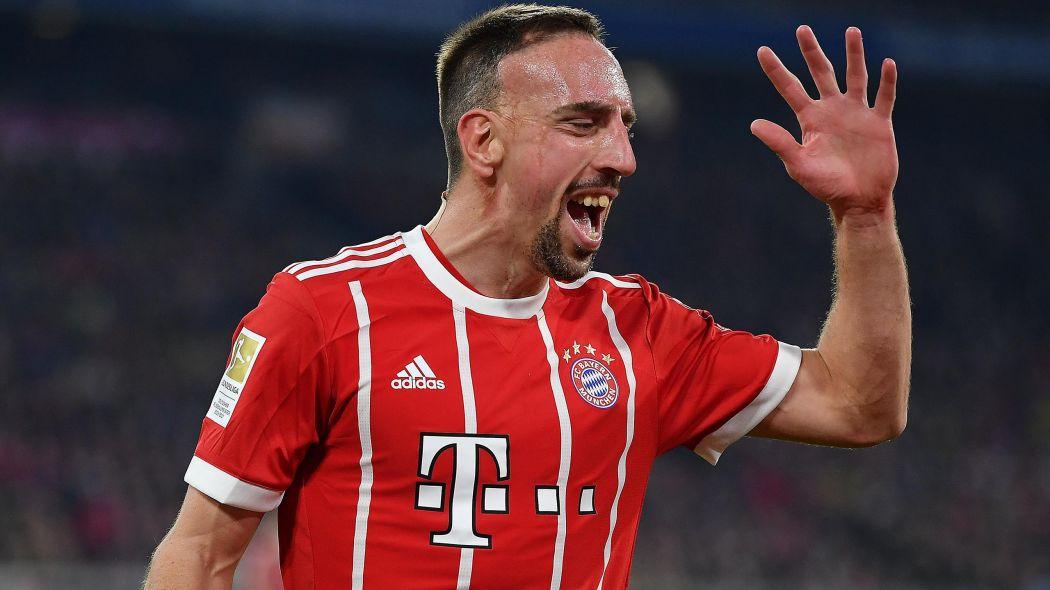 Frank Ribéry a giflé un consultant français de BeIn Sport