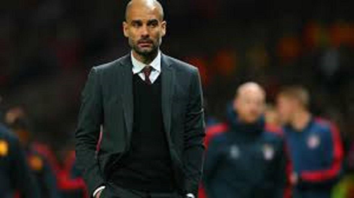 Pep Guardiola et ses propos sur l'arbitre du derby de Manchester