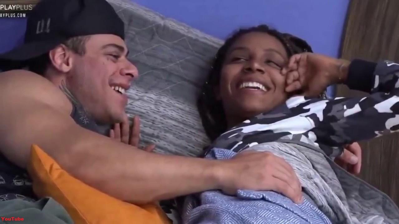 Léo Stronda e Luane Dias seguem firmes no relacionamento dentro da Fazenda 10