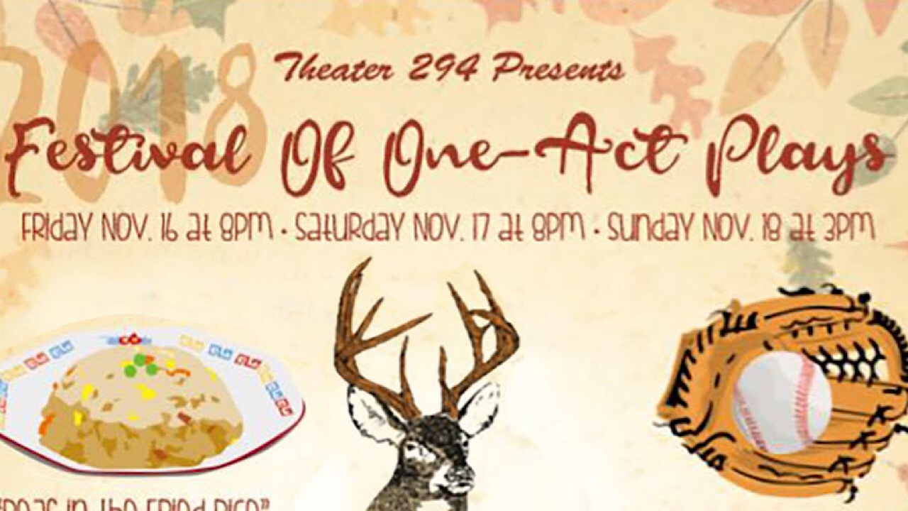 Theater 294 presents debut one-act play festival from November 16