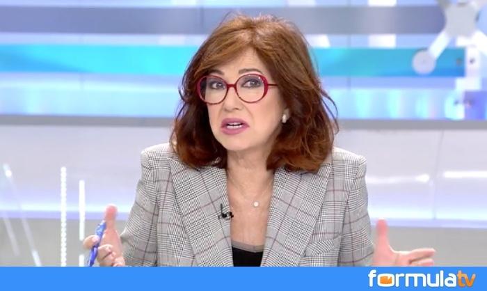Ana Rosa Quintana contra Abascal por su discurso ultraderechista en Murcia