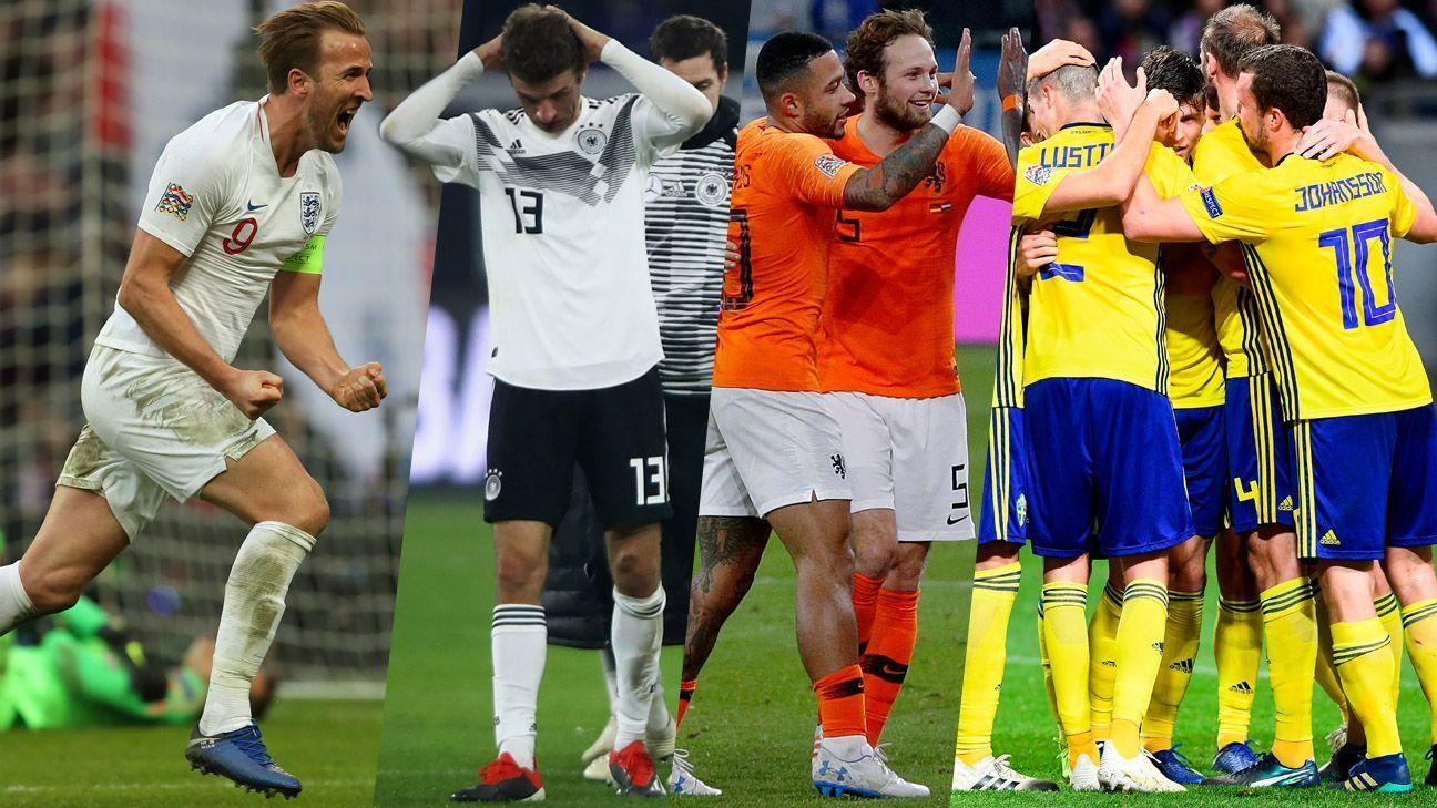 Escocia, Suecia, Serbia, y Kosovo lograron el ascenso en la Liga de las Naciones