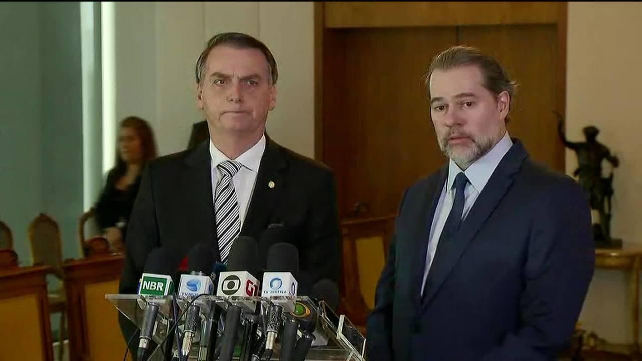 Ministros do STF andam desconfiados com o próximo Governo