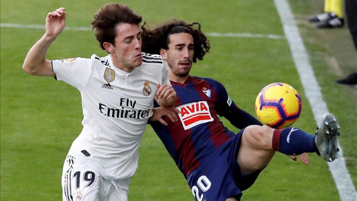 VIDEO: El Eibar frena a Solari en el Real Madrid