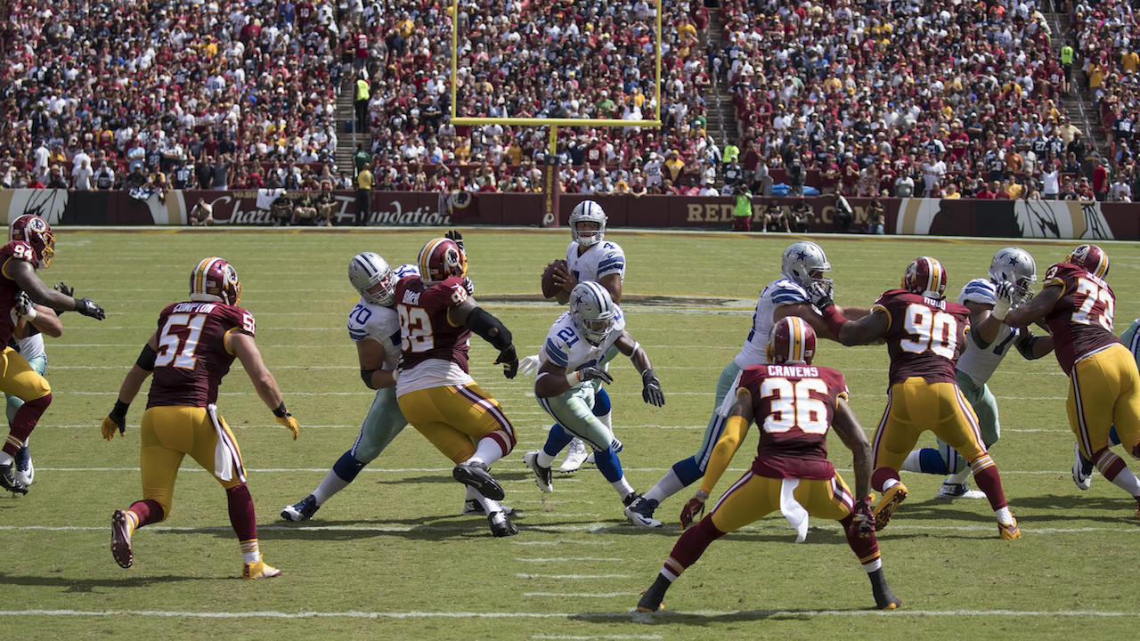 Dallas Cowboys, Washington Redskins' remaining schedules for NFL playoff picture