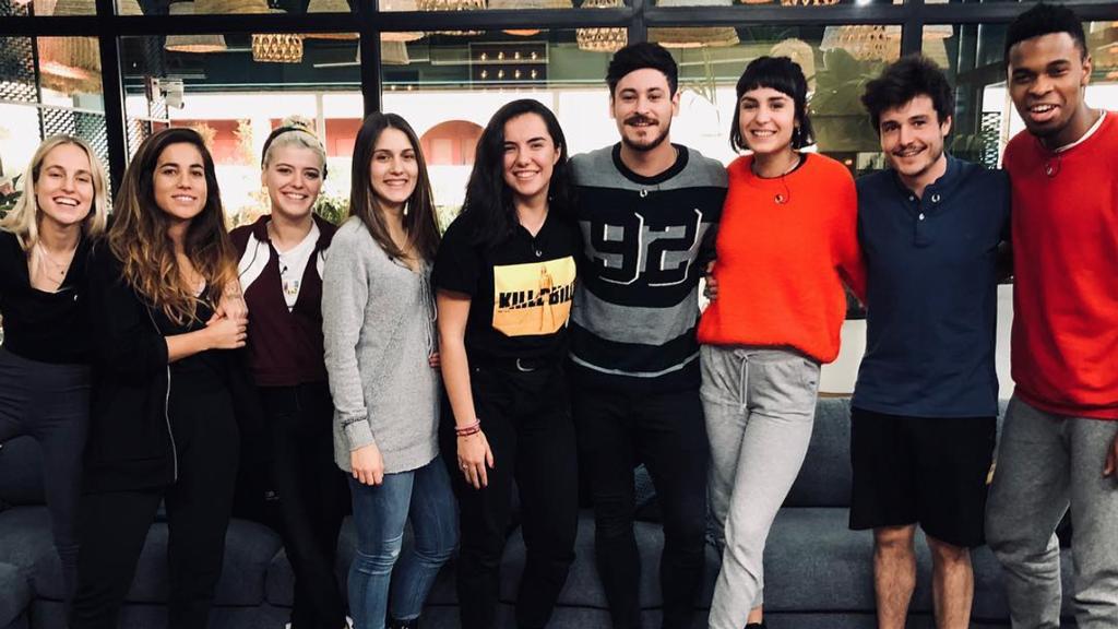 Cepeda visita la Academia de Operación Triunfo