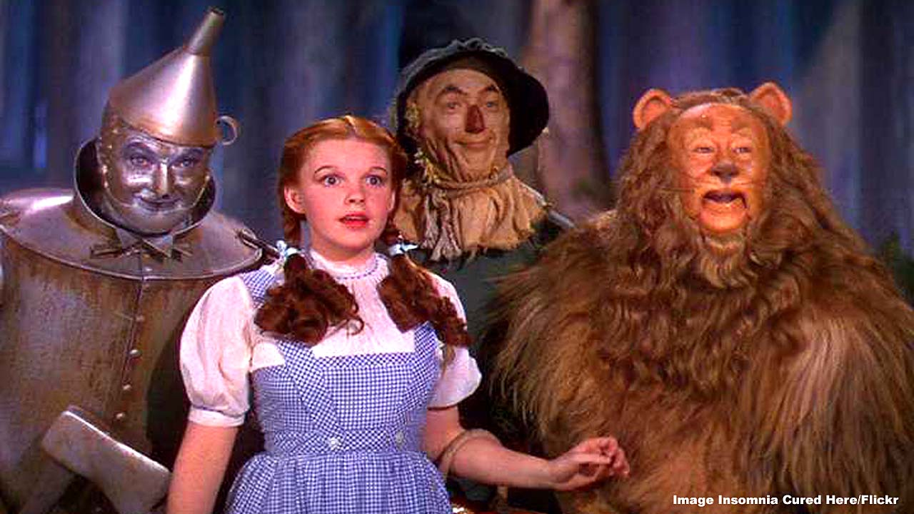 The Wizard of Oz is the top-most influential film of all time