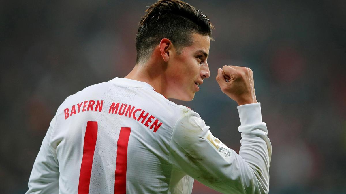 Real Madrid: James 'prêt à partir' du Bayern Munich