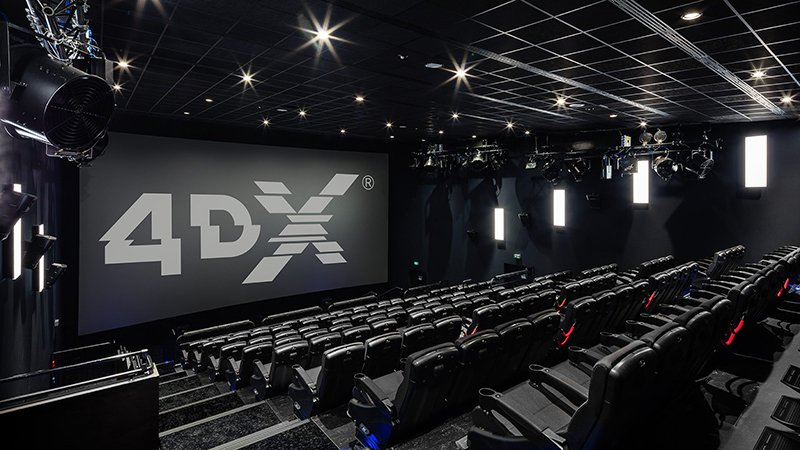 Sony will release 13 films in 4DX format next year