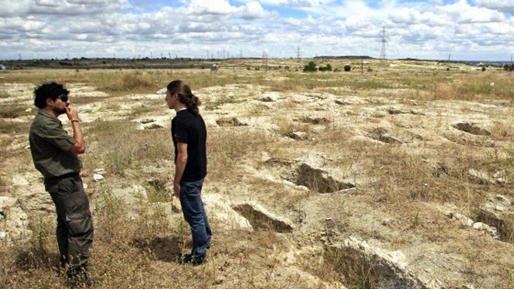 Destrozan en Vicálvaro una necrópolis visigoda con 900 enterramientos