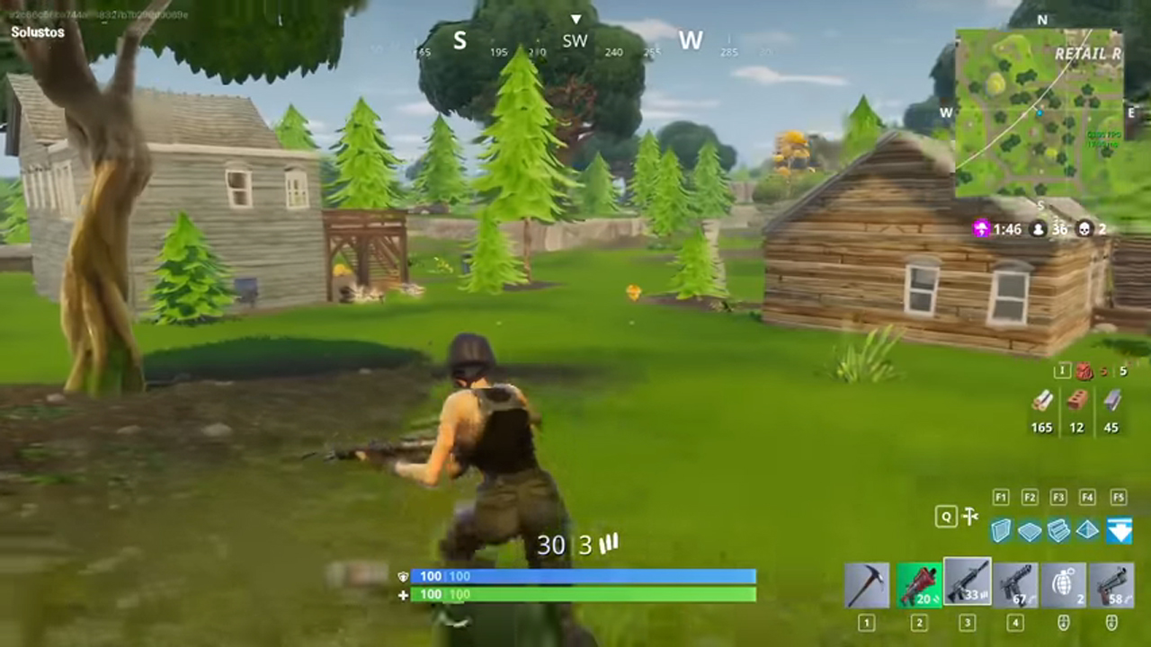 There are swords now in Fortnite Battle Royale