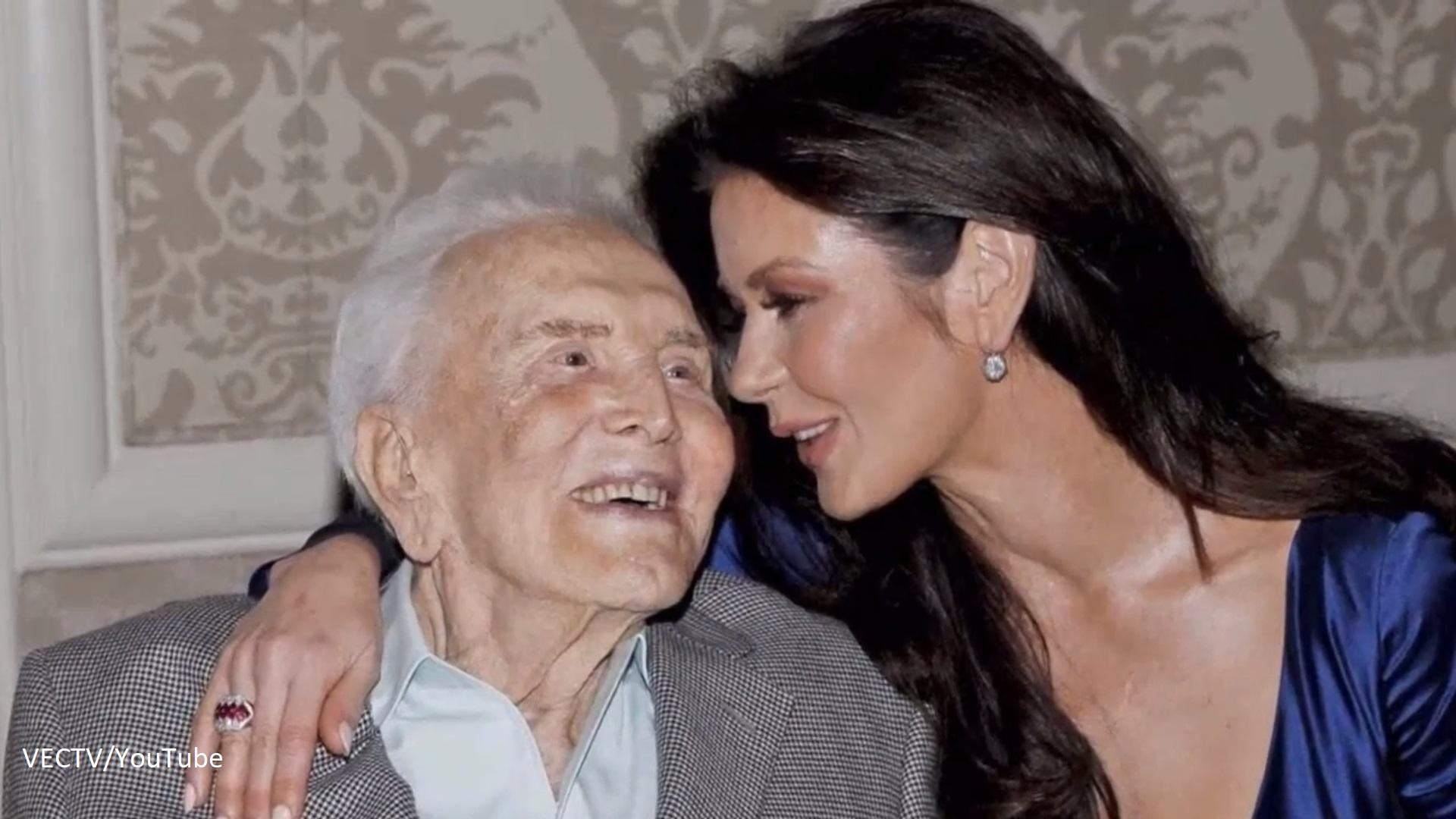 Kirk Douglas celebrates the 102nd birthday