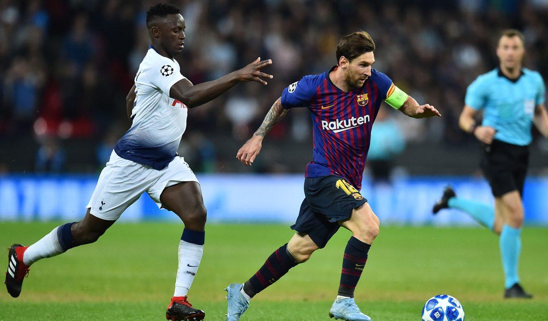Barcelona e Tottenham fazem grande jogo pela Liga dos Campeões