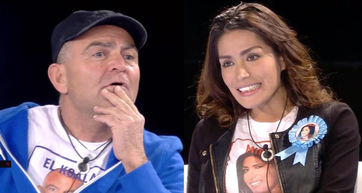 El Koala lanza una pregunta incómoda a Miriam sobre su concurso
