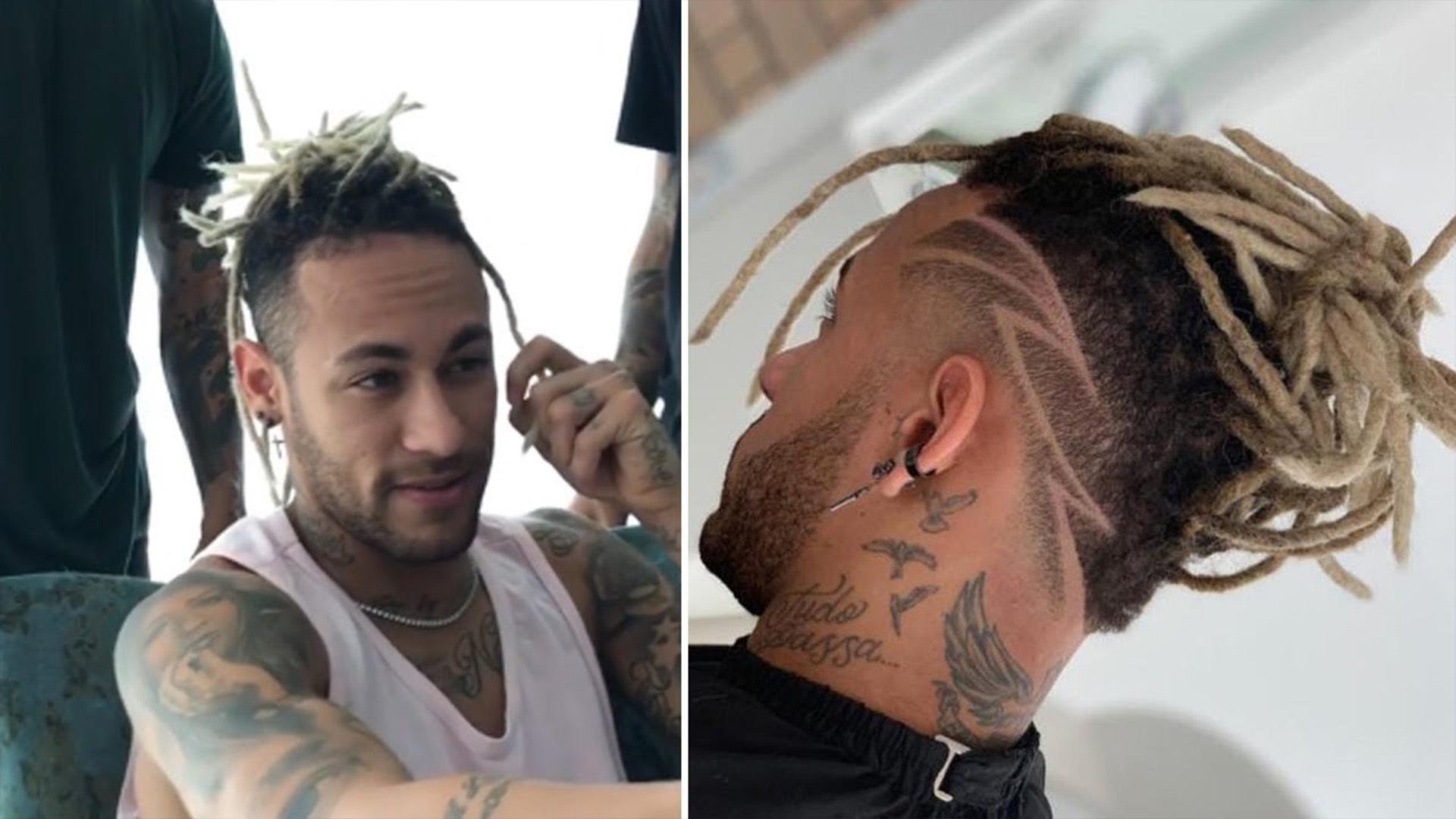 Neymar : sa surprenante nouvelle coupe de cheveux