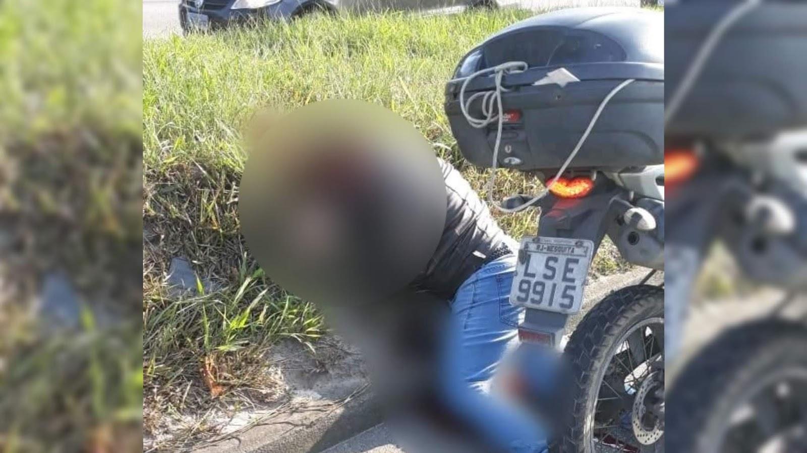 Policial Militar é preso após matar motociclista no Rio de Janeiro