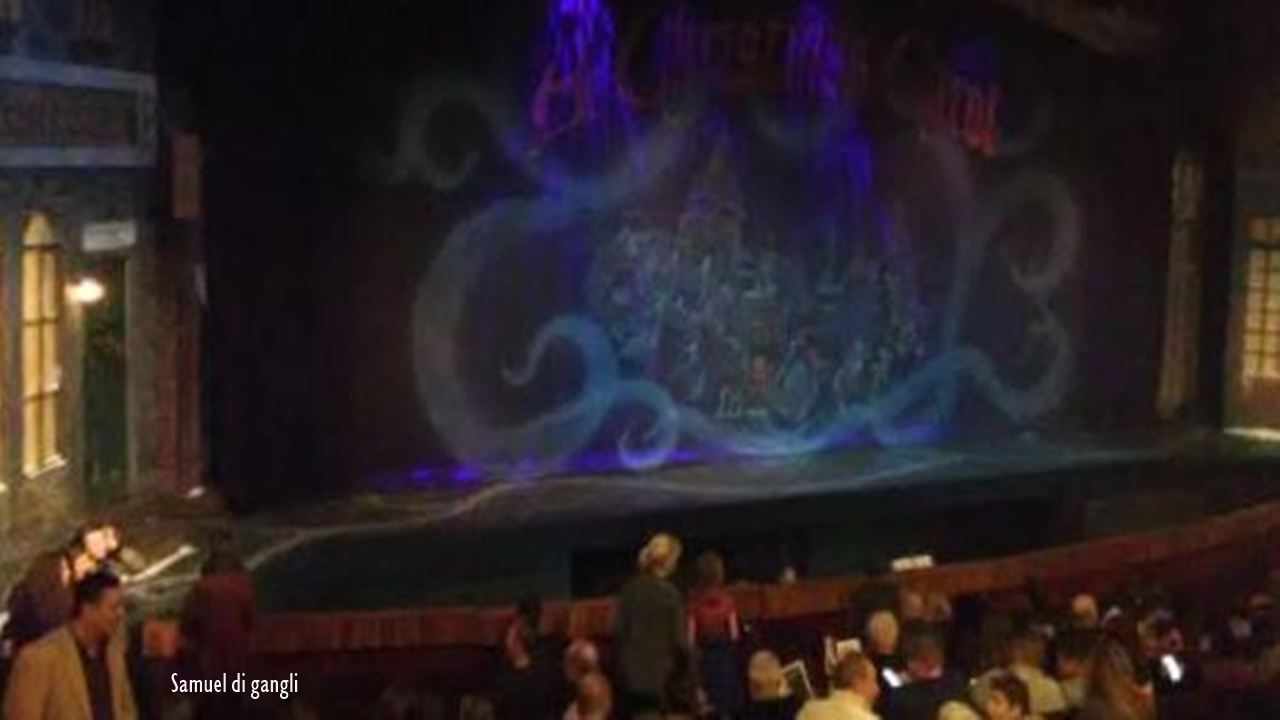 Canton Playhouse Theater presented a delightful show of A Christmas Carol