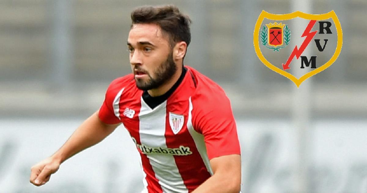 VIDEO: Unai López estuvo en la grada del Estadio de Vallecas