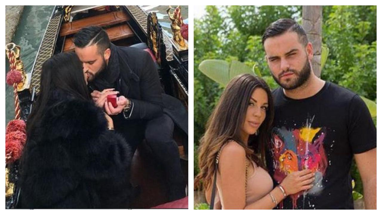 Nikola Lozina fait sa demande en fiançailles à Laura Lempika