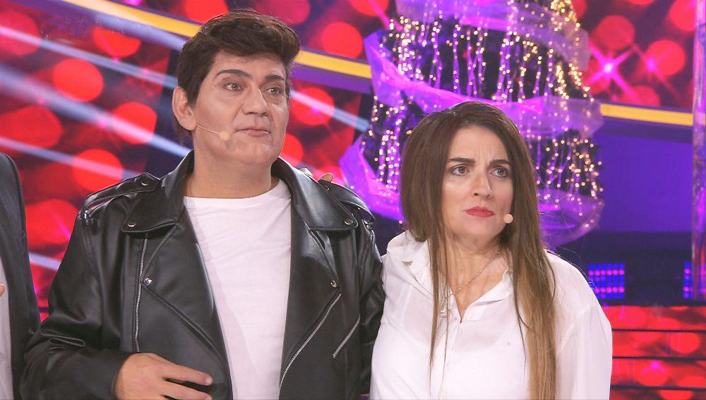 VIDEO: Alfred García aplaude la mala imitación de Silvia Abril y José Corbacho