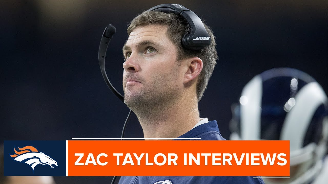Zac Taylor could be the next Denver Broncos head coach