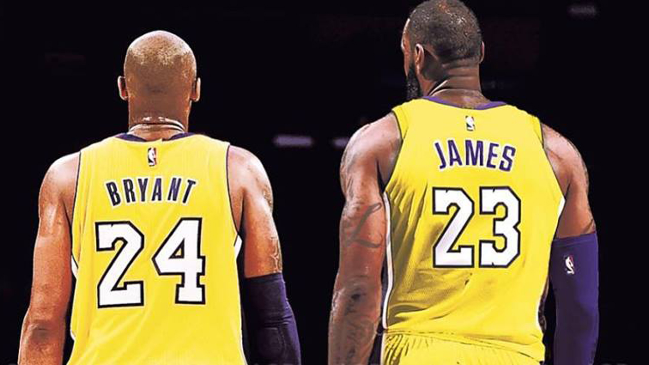 Kobe Lebron Lakers >> Kobe Bryant talks about the Lakers and LeBron injury woes