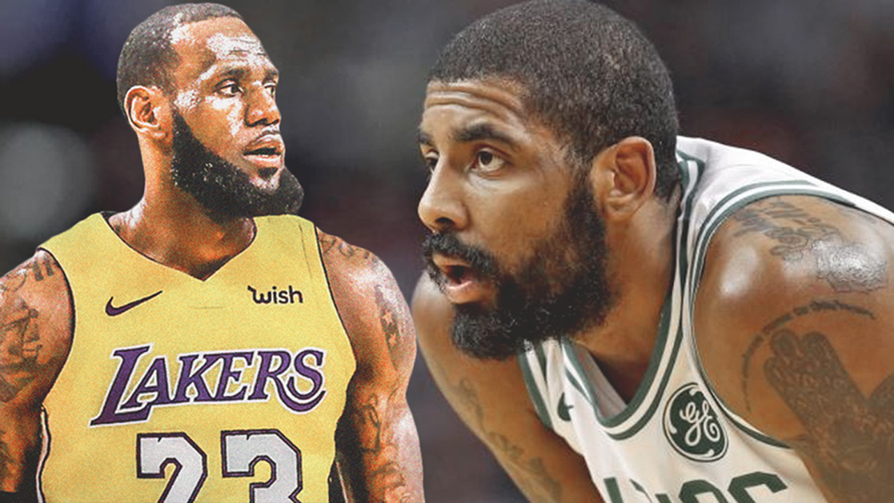 Kyrie talks about why its hard to play with LeBron