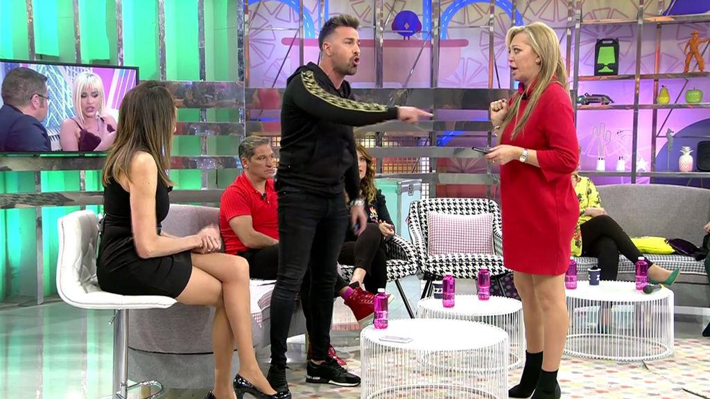 Discusión entre Rafa Mora y Belén Esteban por Ylenia