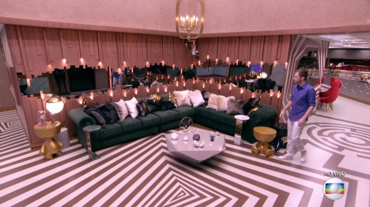 As primeira imagens de dentro da casa do BBB19
