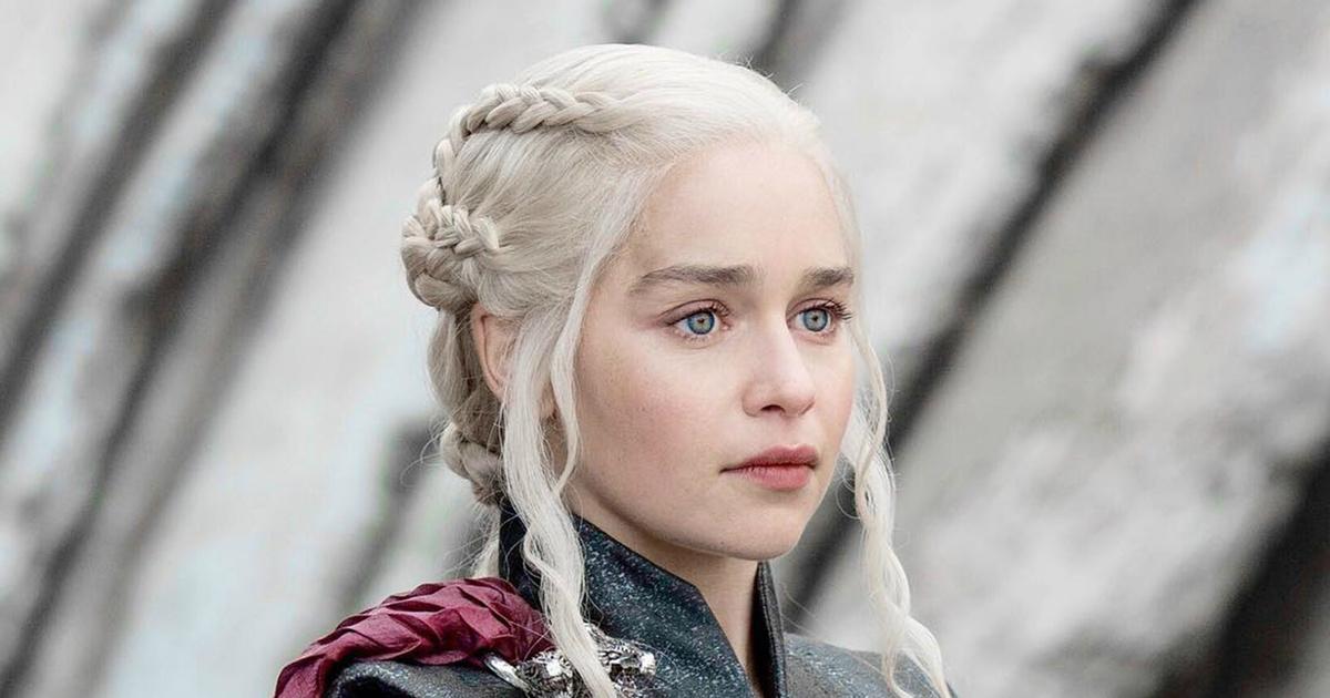 Simple y con estilo peinados juego de tronos Colección de estilo de color de pelo - Las trenzas de Daenerys en Juego de Tronos significan ...