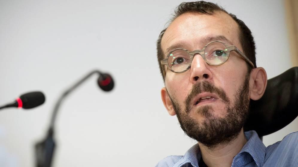 Pablo Echenique asegura que Errejón debería renunciar como diputado