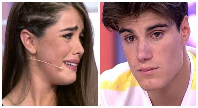 Julen y Violeta discrepan sobre el final de su relación