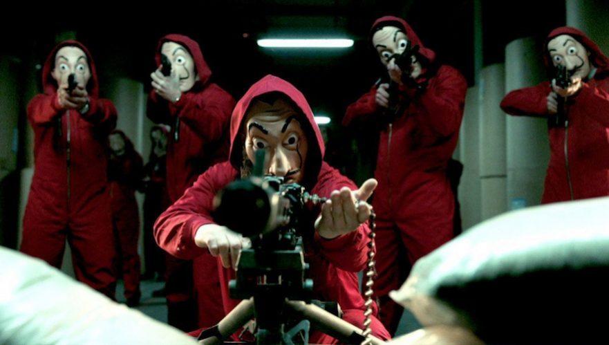 maschera dali casa di carta  La casa di carta, la serie sotto accusa a causa delle maschere