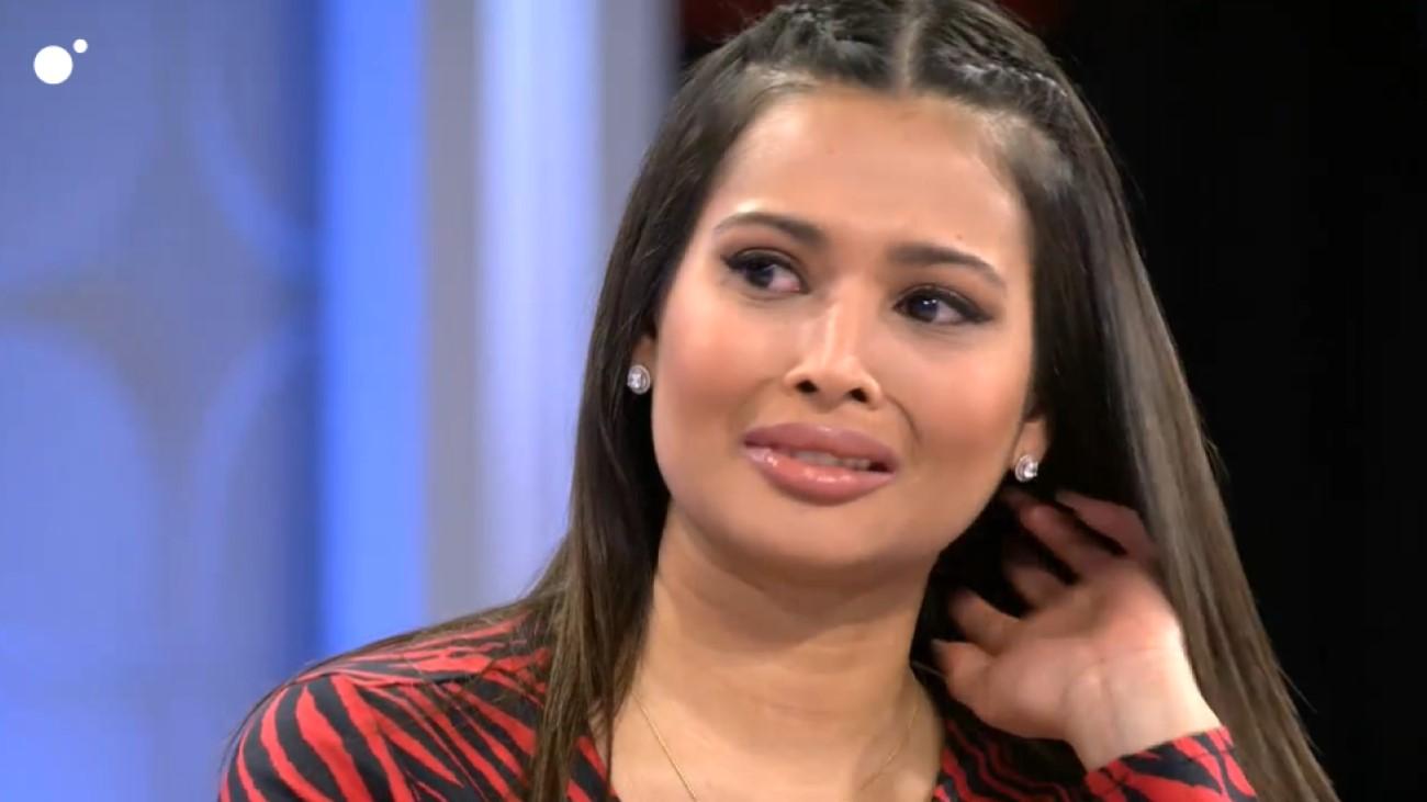 MyHyV: Kathy llora en el programa por una fuerte discusión con Santana