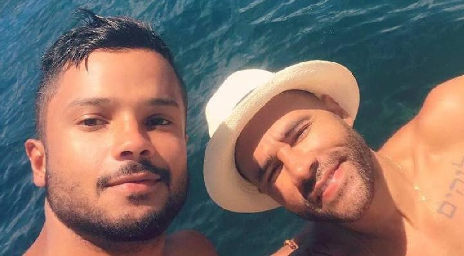 Rodrigo Sant'Anna publica foto do namorado e faz declaração emocionante: 'te amo'