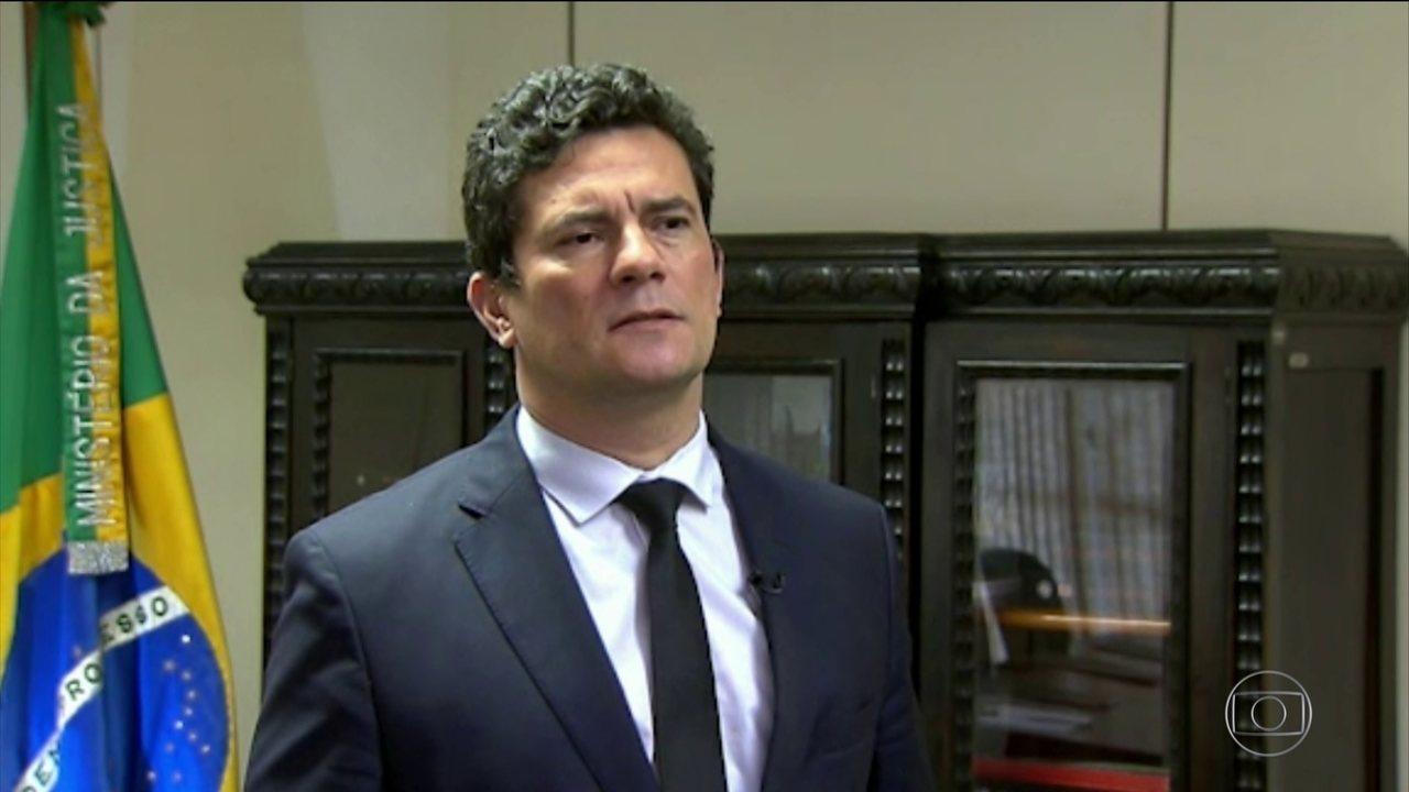 Sergio Moro recebeu secretários de segurança e governadores