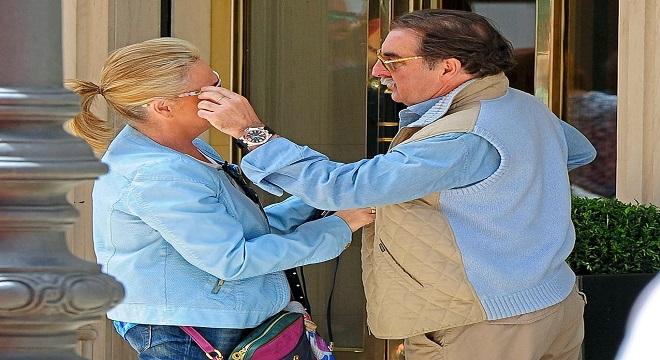 Lydia Lozano está preocupada por la salud de su marido