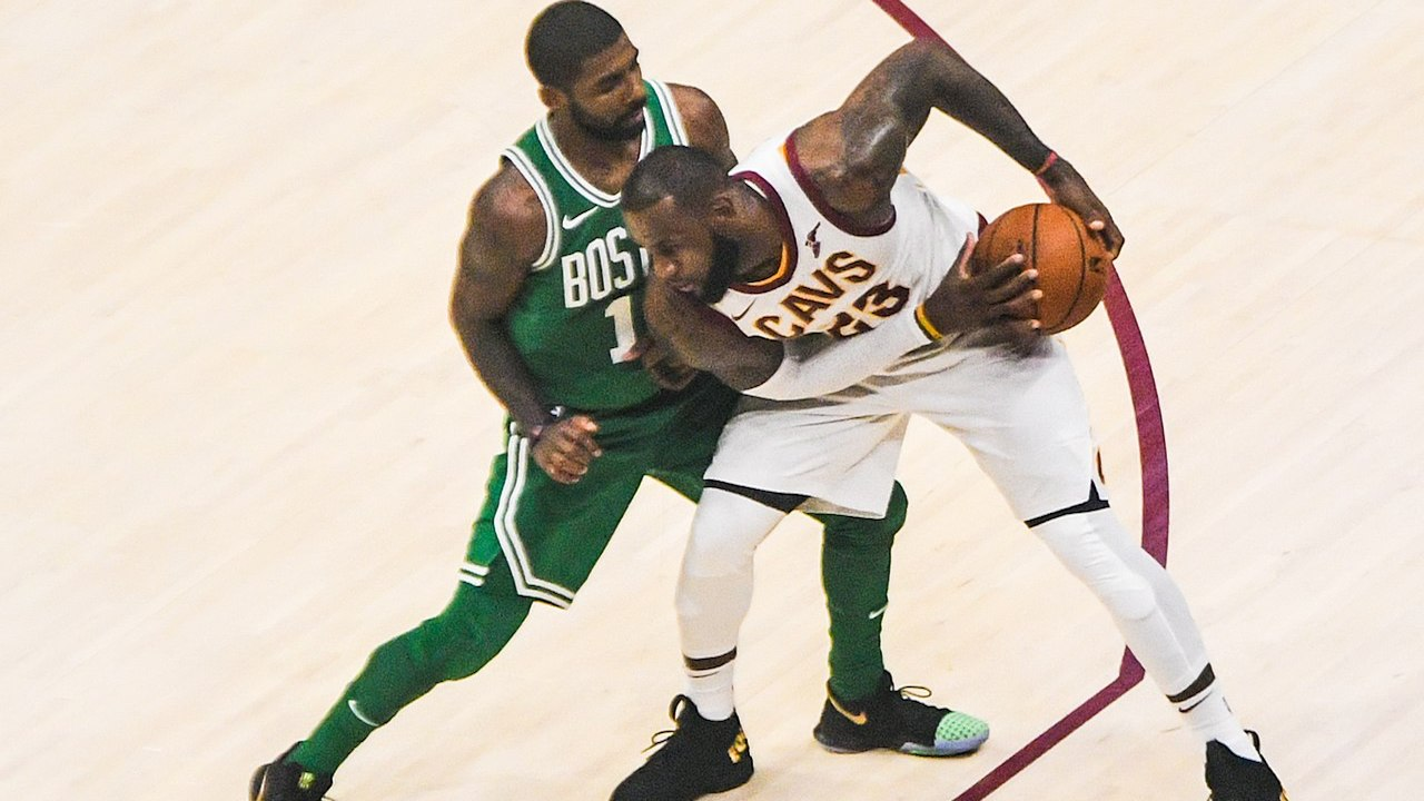 Celtics' Kyrie Irving weighs in on All-Star reunion with LeBron