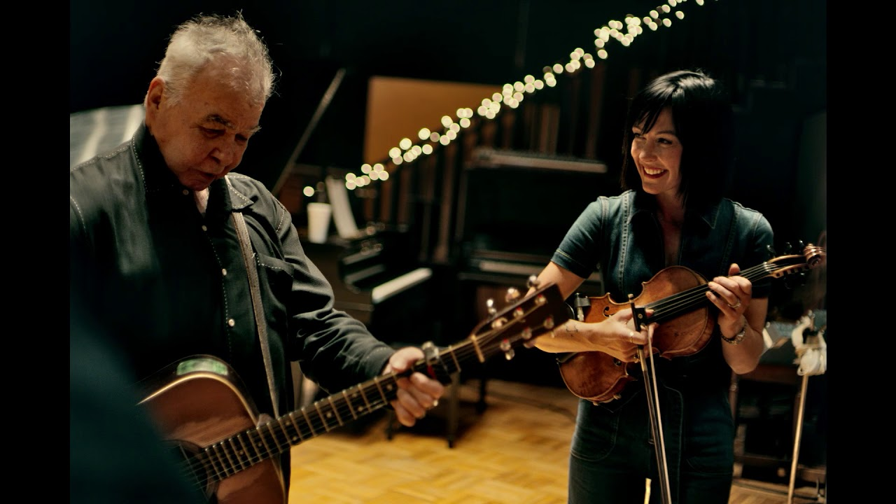 John Prine and CBS' John Dickerson share special musical moment