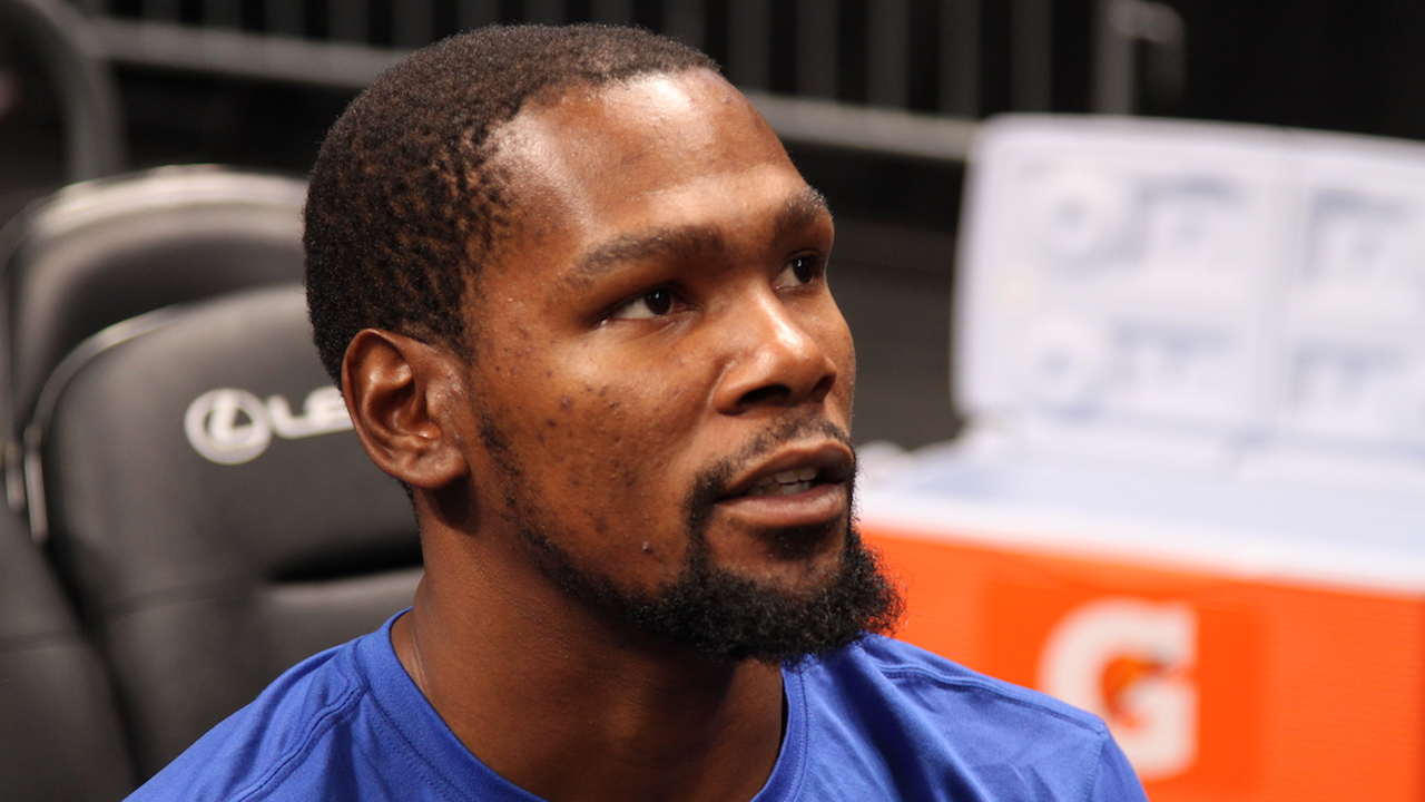 Kevin Durant talks about LeBron's decision to make him teammate