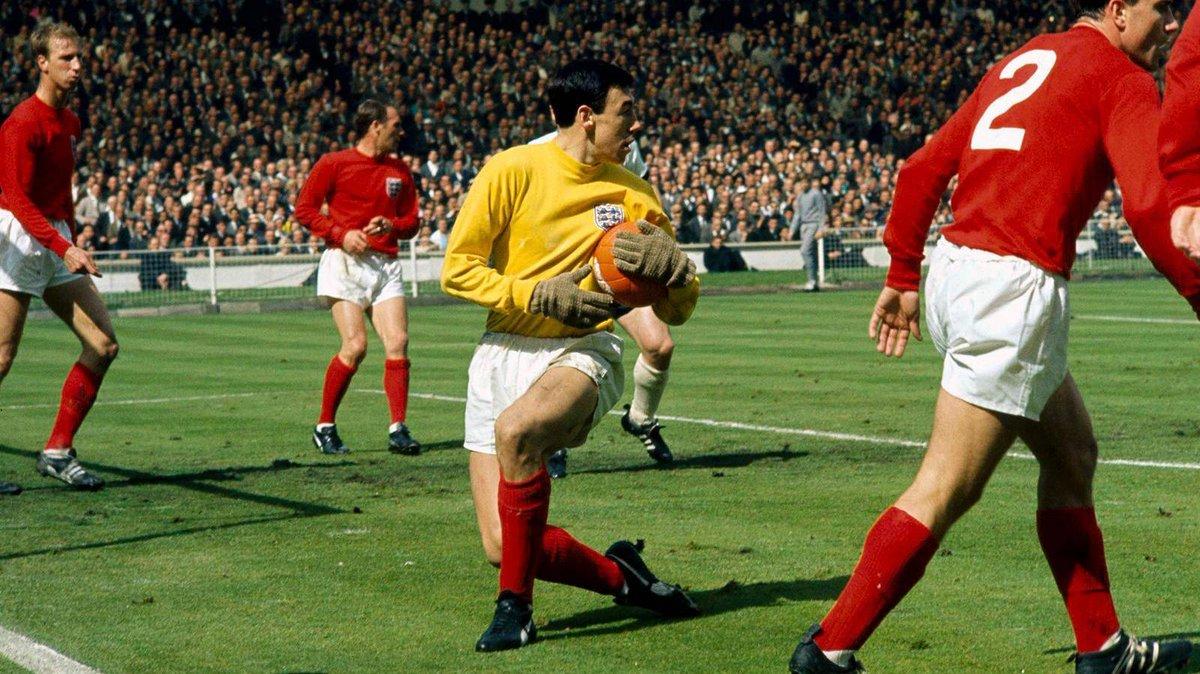 È morto Gordon Banks: fu campione del mondo con l'Inghilterra nel 1966
