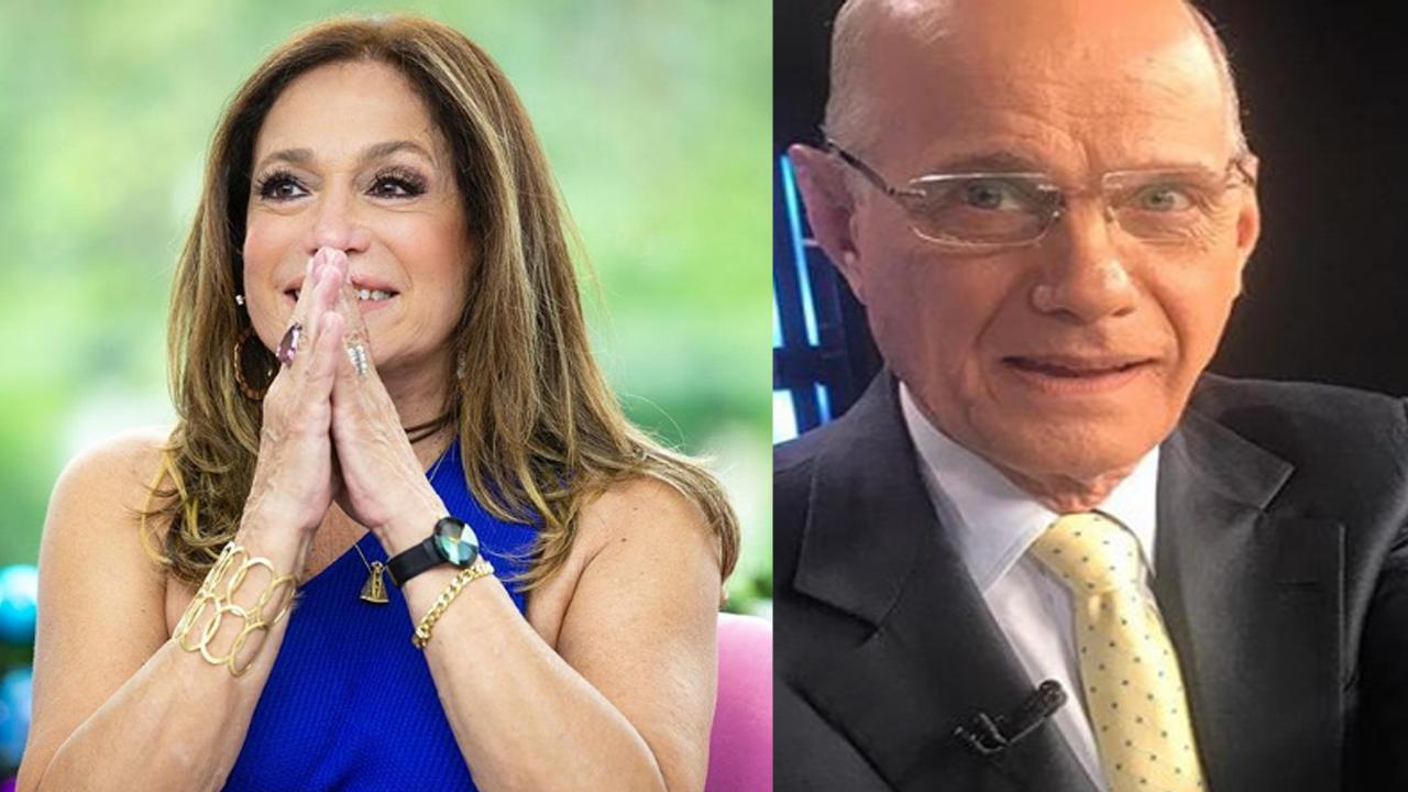 Susana Vieira lamenta a morte de Ricardo Boechat