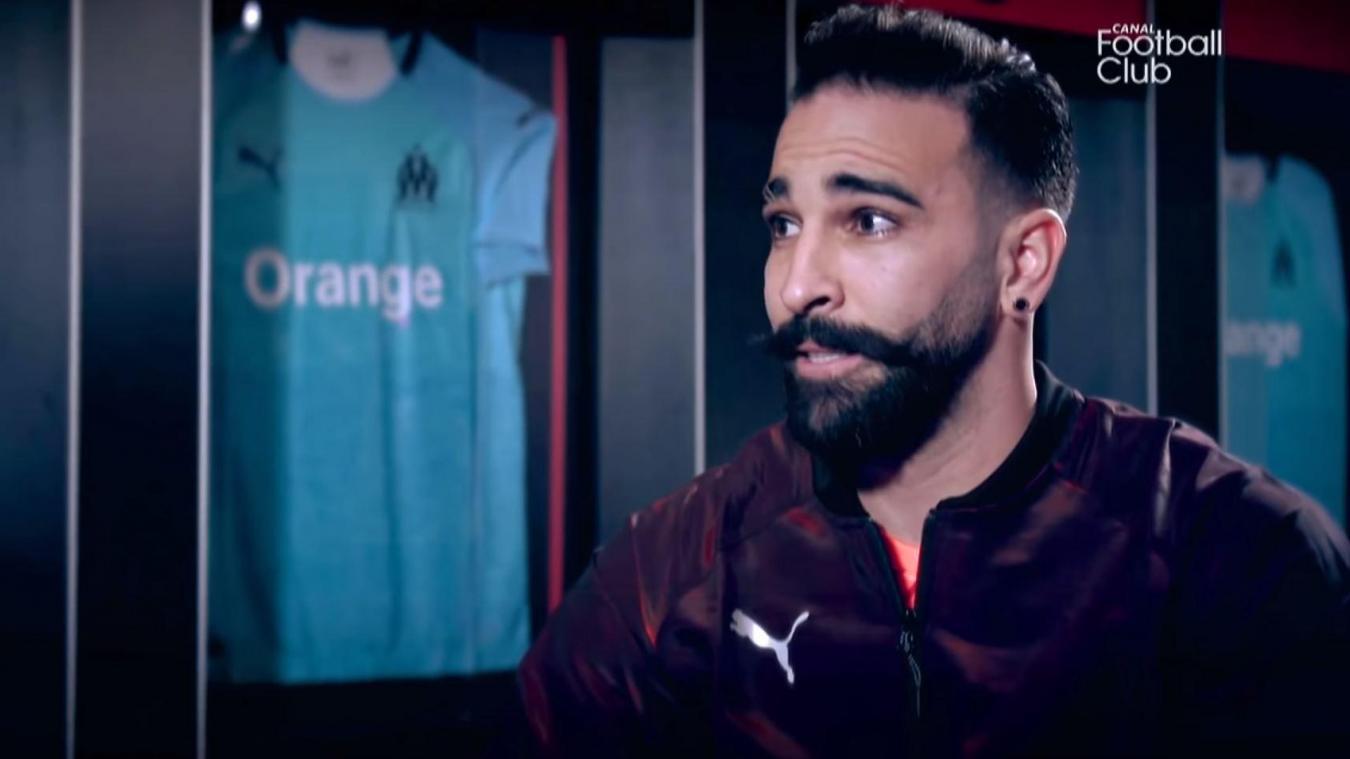 Adil Rami évoque son burn-out au micro de Canal+