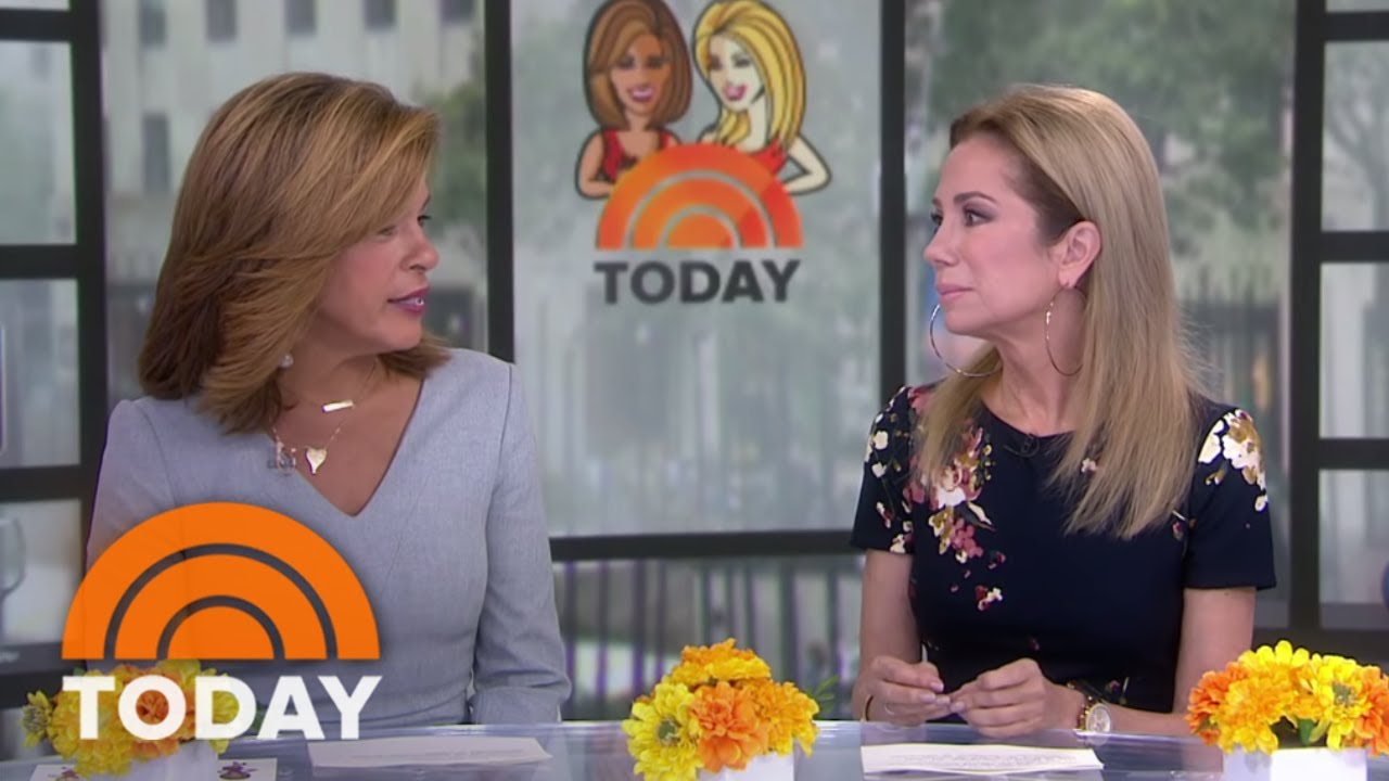 Kathie Lee Gifford reacts to a tribute to her 55 years in show business