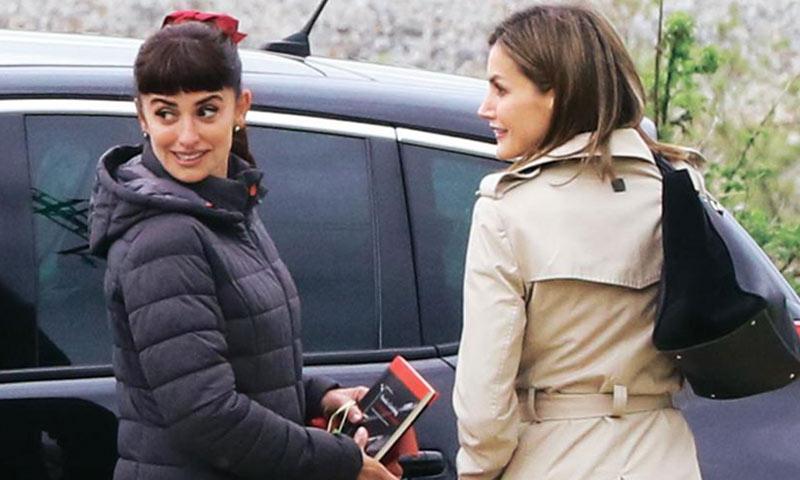 La deseada foto entre Penélope Cruz y Letizia tendrá que seguir esperando