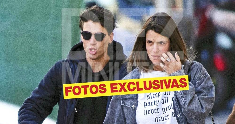 Laura Matamoros, vista con el influencer Daniel Illescas tras terminar con Benji
