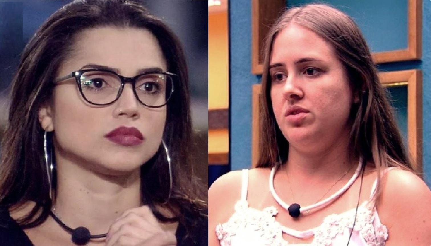 Patrícia Leitte e Paula, ambas do BBB18, discutem e trocam ofensas na web: 'falsa'